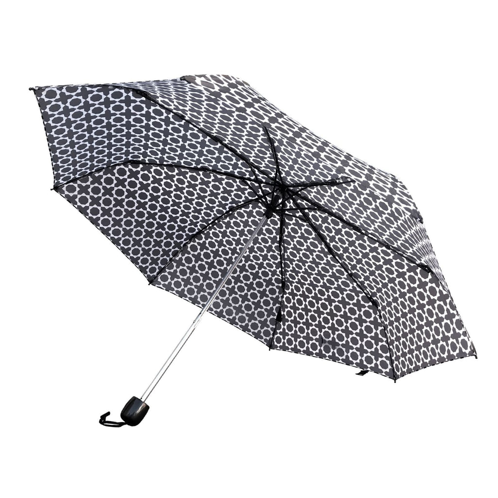 Shelta Mini Windproof Manual Geometric Morocco Umbrella