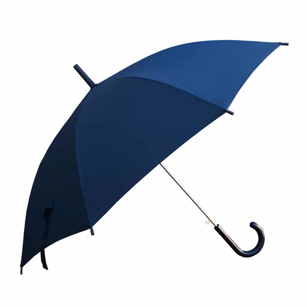 Shelta Standard Auto Long Full Length Navy Umbrella.