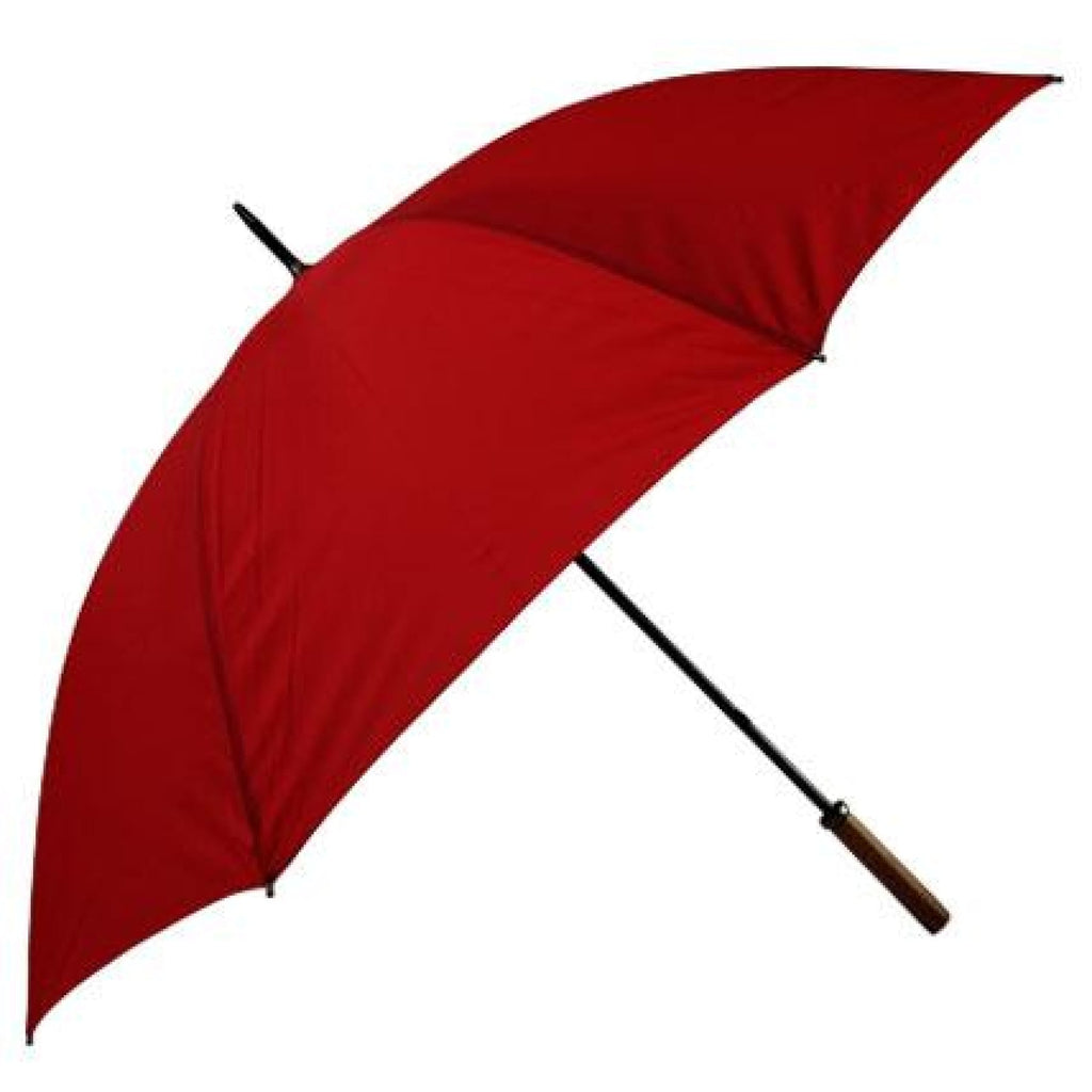 Shelta Windproof Large Golf Bogey Red Umbrella.