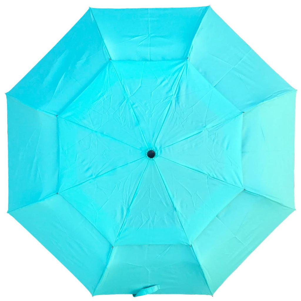 UPF25 Shelta AOAC Vented Compact Mini Aqua Umbrella
