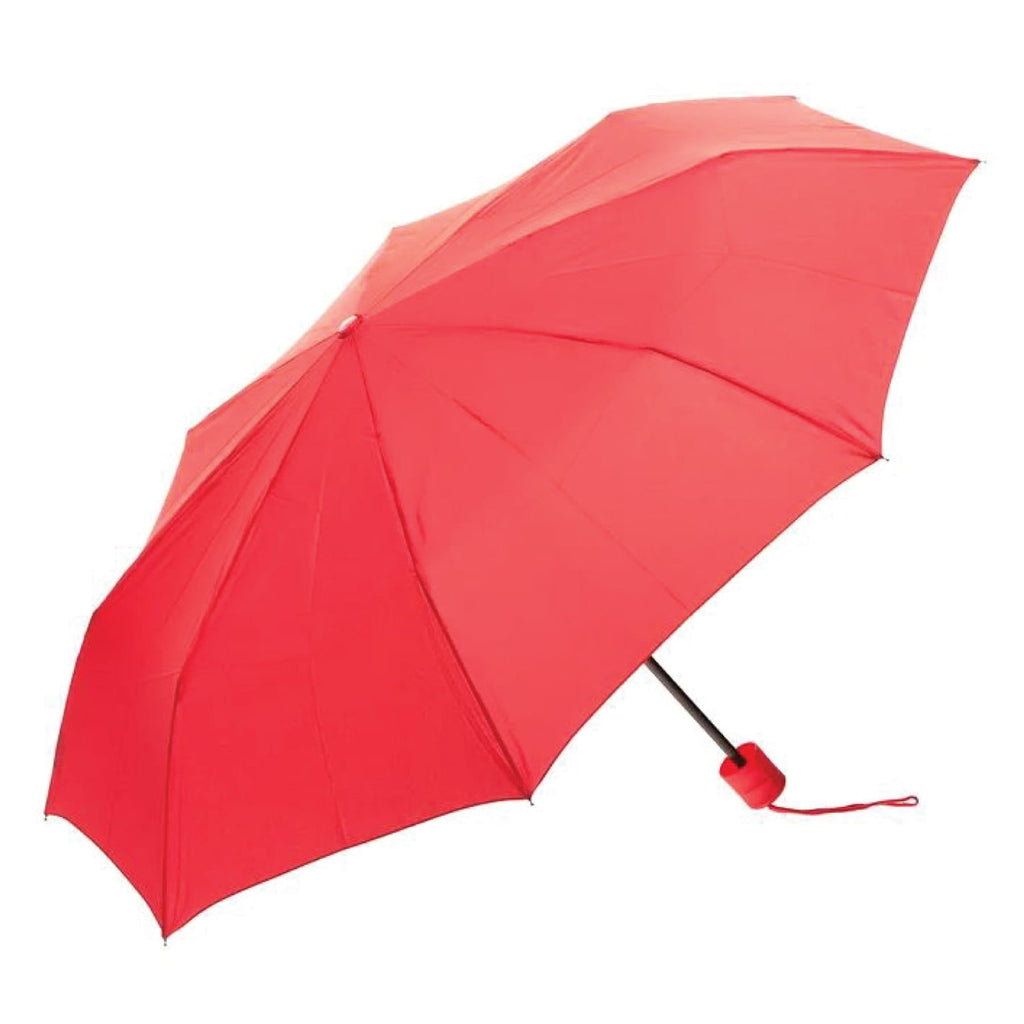 UPF50+ Clifton Windproof Mini Maxi Compact Red Umbrella