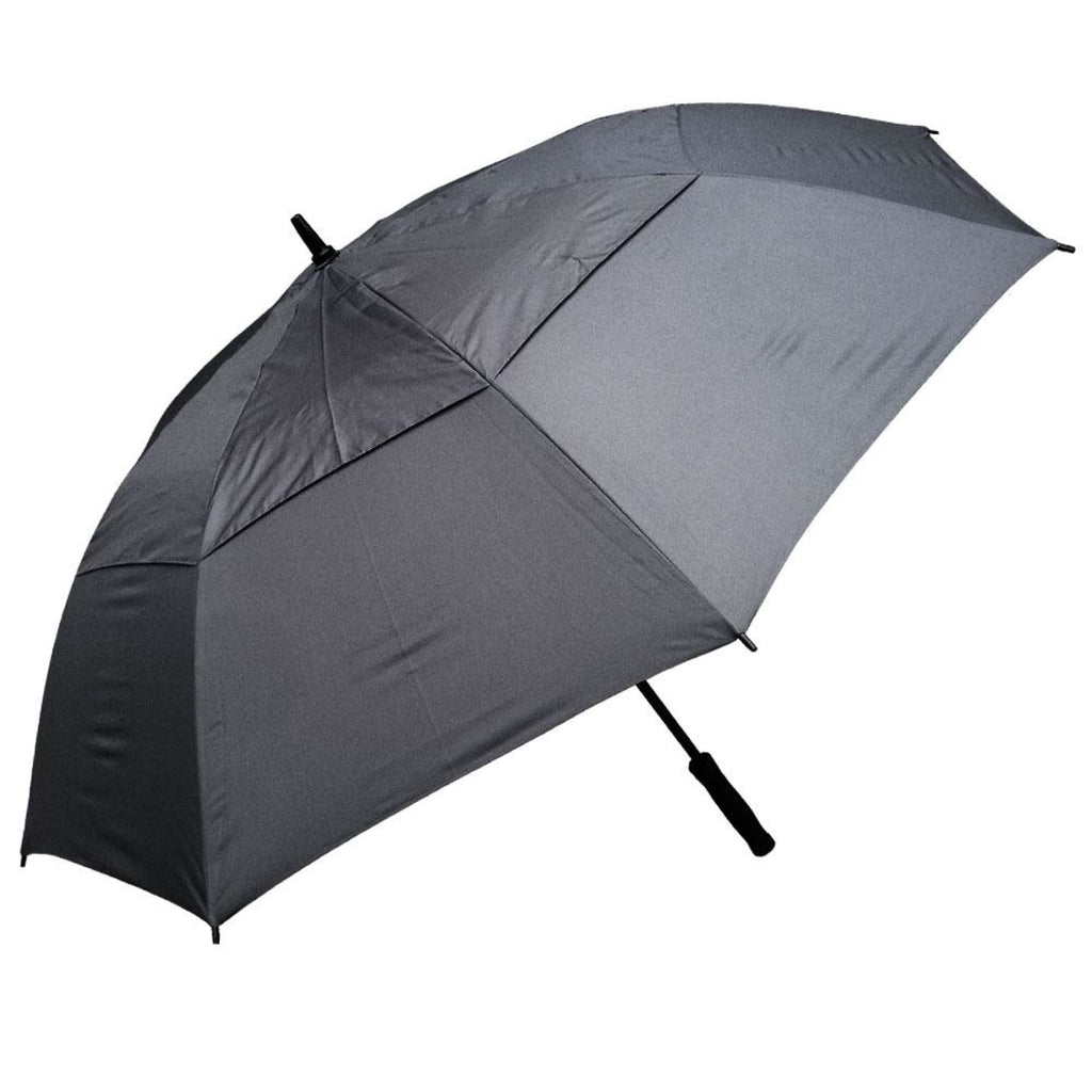 Willow Tree Eagle Auto Open Golf Umbrella Charcoal