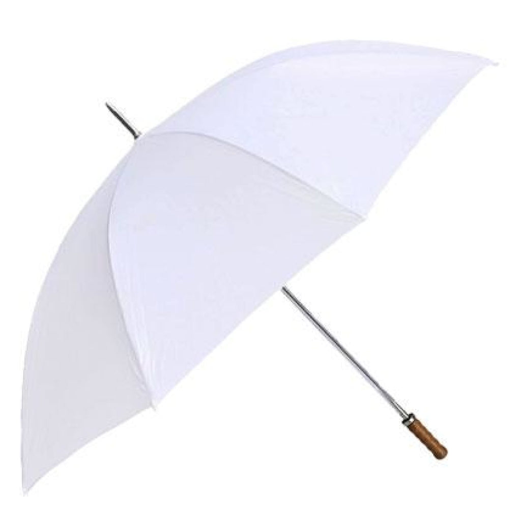 Willow Tree Large Straight Classic Golf Wedding White Umbrella.