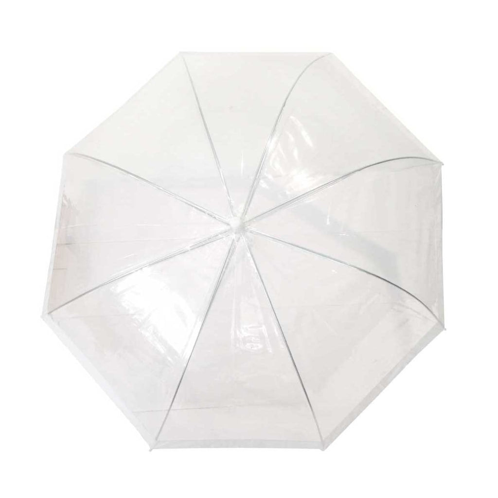 Willow Tree POE Dome Birdcage White Border Umbrella.