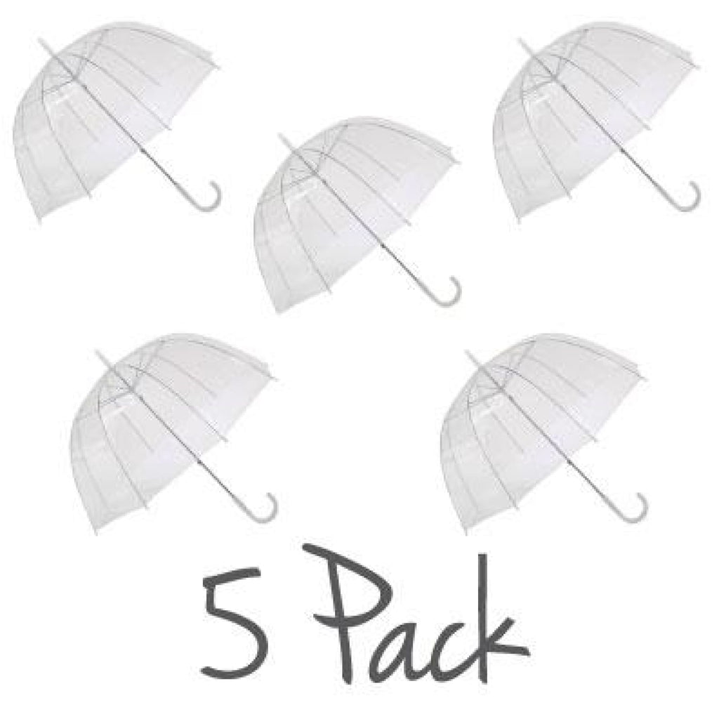 Willow Tree PVC Dome Birdcage Clear Transparent 5 Pack