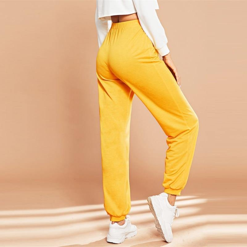 Summer Vibes High Waist Pants - JulesFashions