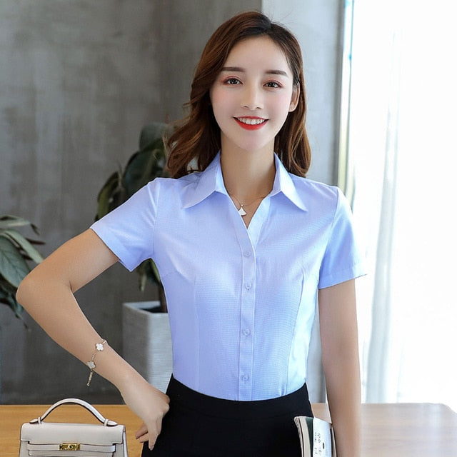 Women Shirts Short Sleeve - JulesFashions