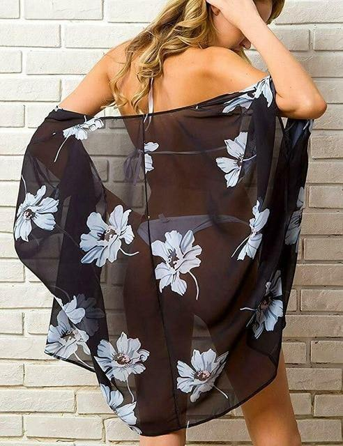 Best Day Ever Floral Kimono