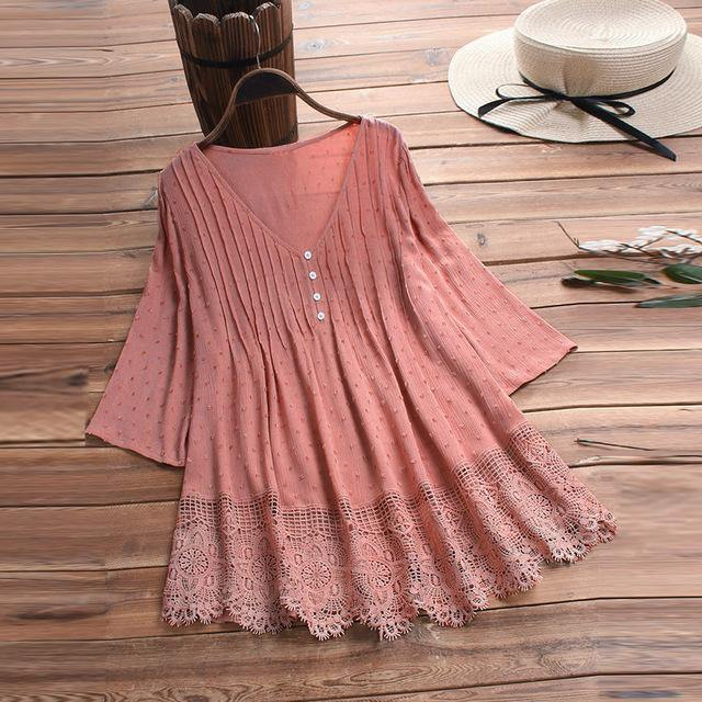 Wrong Impression Lace Top