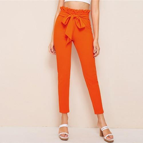 Chase The Paperbag Waist Pants