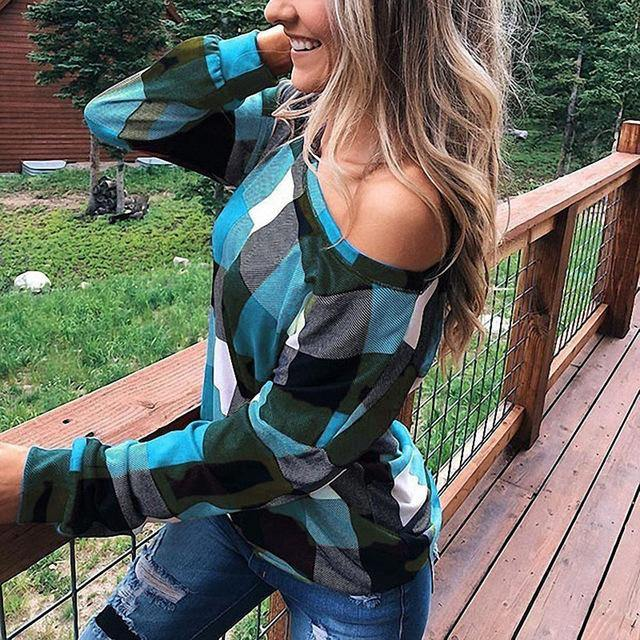 All About Plaid Top - JulesFashions