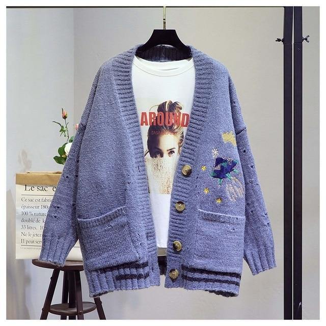 Day Out Embroidered Cardigan