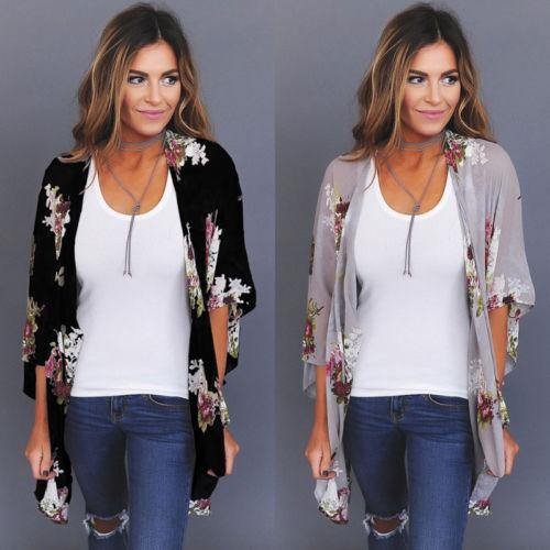 Lost For Words Floral Kimono