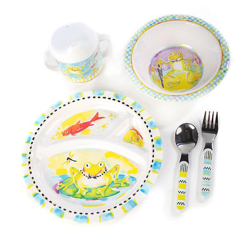 Toddler's Dinnerware Set - Frog