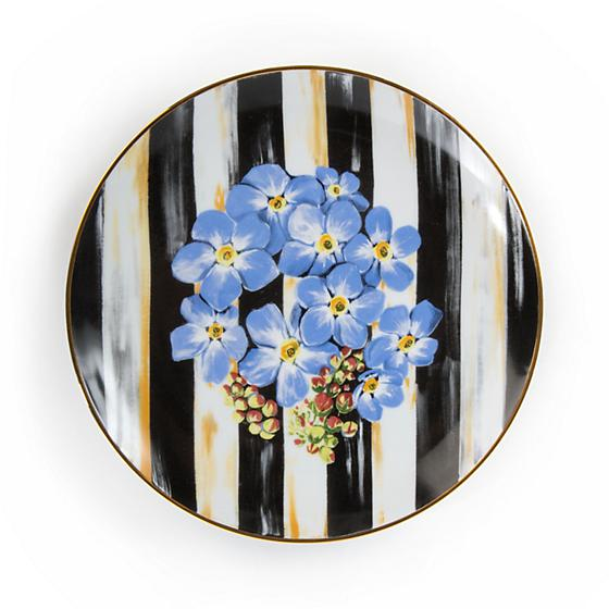 Thistle & Bee Salad Plate - Forget-Me-Not