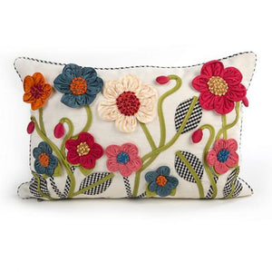 Tic-Tac-Posie Lumbar Pillow - Short