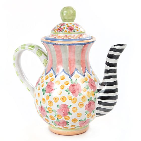Taylor Coffee Pot - Cabbage Rose