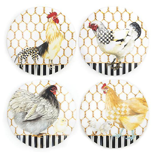 Chicken Coop Placemats - Set of 4