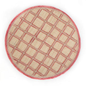 Lattice Placemat - Rose