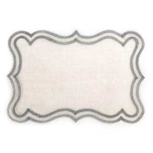 Scroll Placemat - Silver