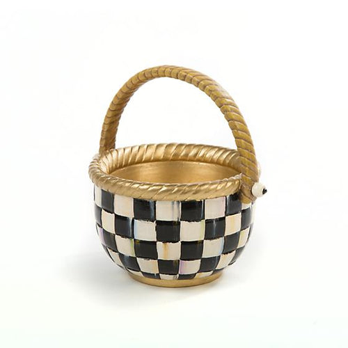 Courtly Check Basket - Small