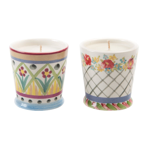 Taylor Scented Candle Duo - Floral - Set of 2