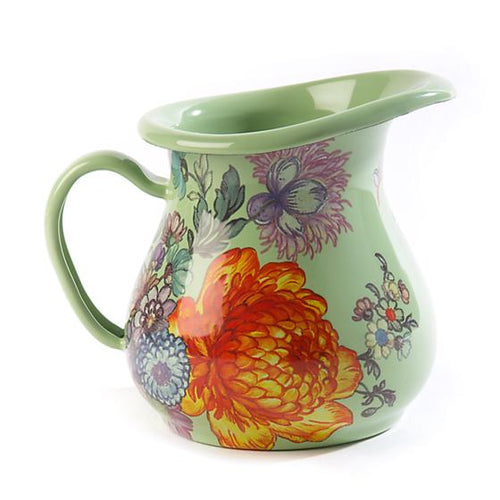 Flower Market Creamer - Green