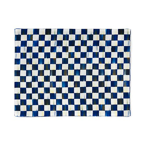 Royal Check Placemat