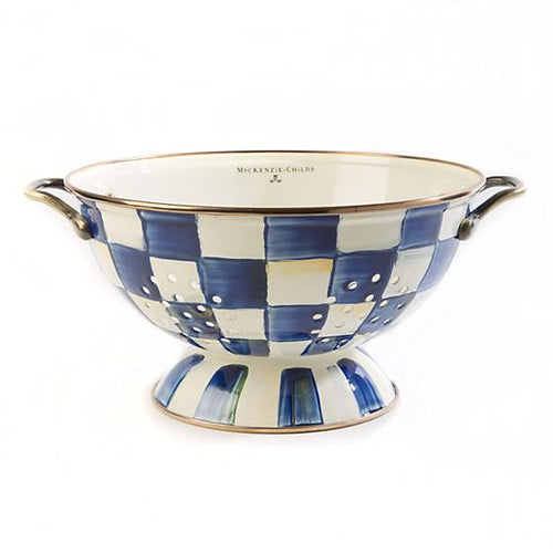 Royal Check Colander - Large