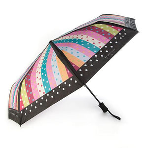 Ribbon & Dot Travel Umbrella