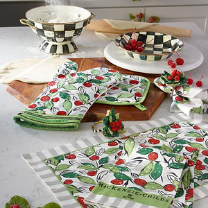 Snow Cherry Placemat