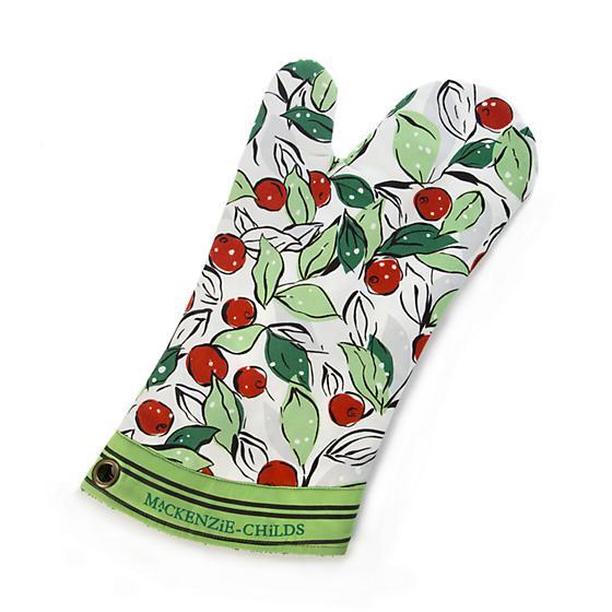 Snow Cherry Oven Mitt