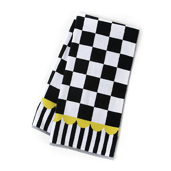 Courtly Check Bath Towel