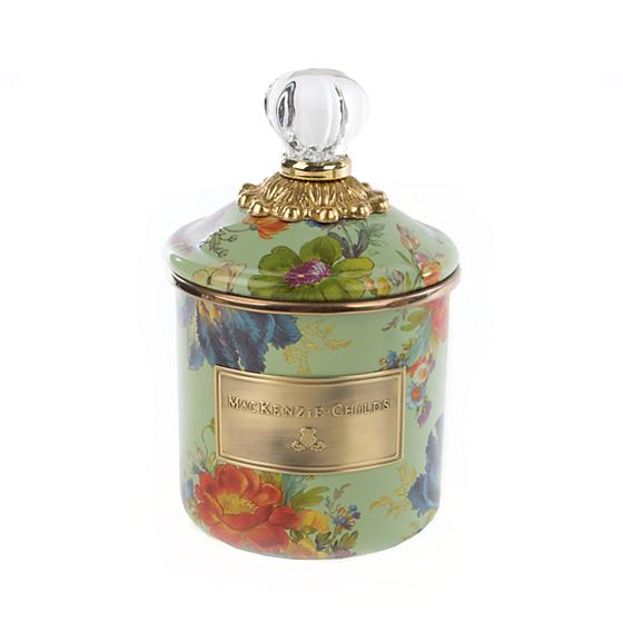 Flower Market Demi Canister - Green