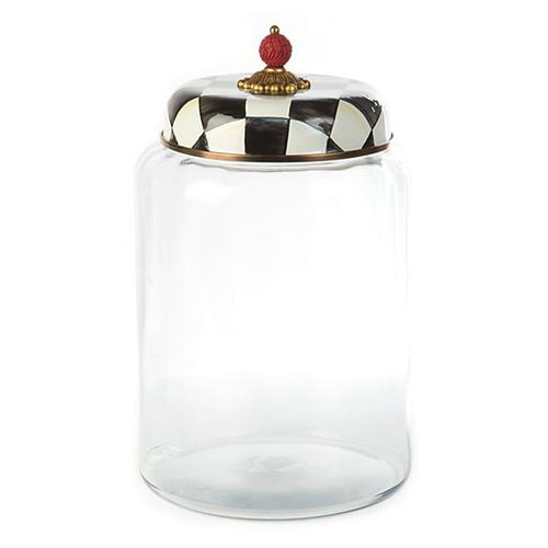 Courtly Check Storage Canister - Biggest