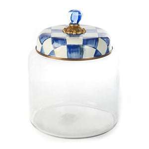 Royal Check Storage Canister - Big