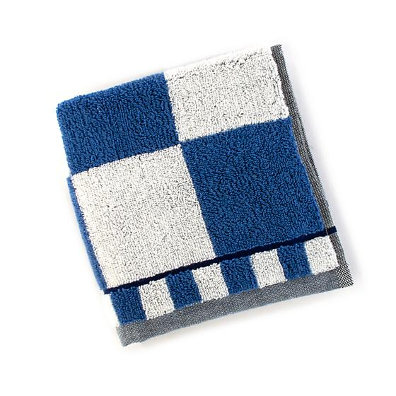 Royal Check Washcloth