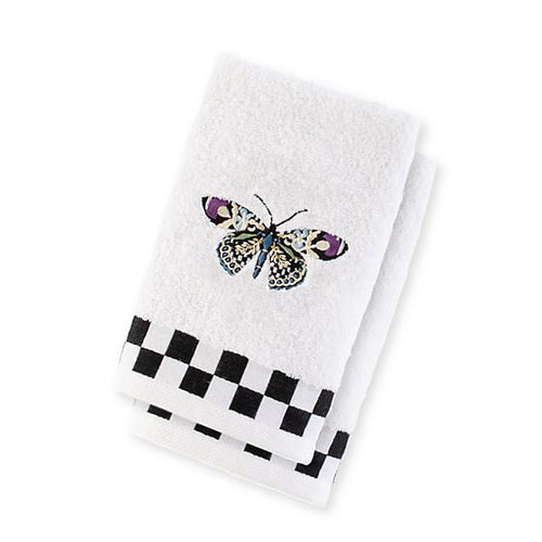 Butterfly Fingertip Towels - Set of 2