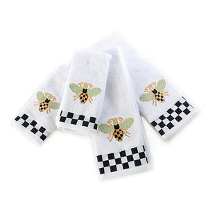 Queen Bee Hand Towels - Set of 2
