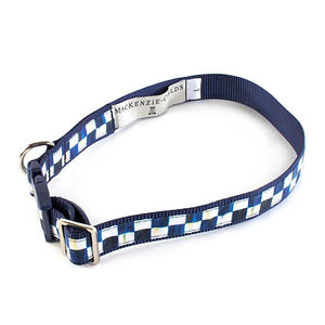 Royal Check Pet Collar - Large
