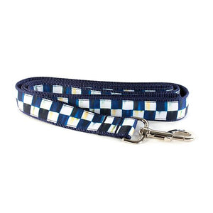 Royal Check Pet Lead - Large