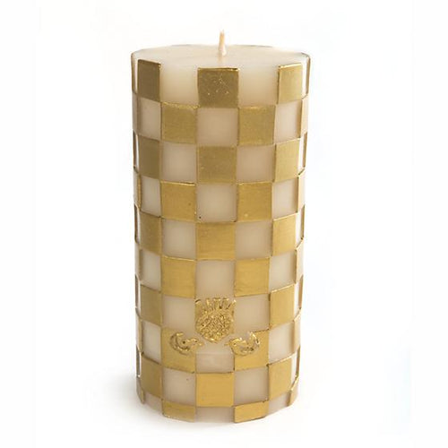 Check Pillar Candle - 6