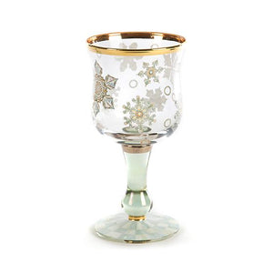 Snowfall Wine Glass