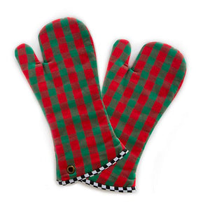 Merry Christmas Oven Mitts - Set of 2