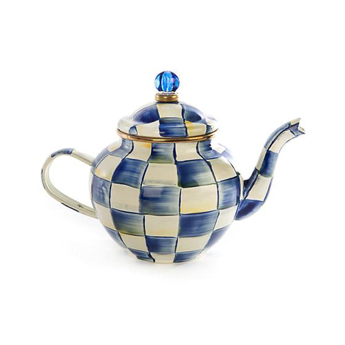 Royal Check Teapot - 4 Cup