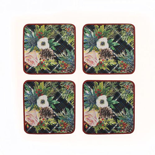 Highbanks Cork Back Coasters - Set of 4