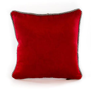 Merriment Ornament Pillow - Red