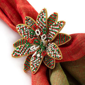 Winter Bouquet Napkin Ring