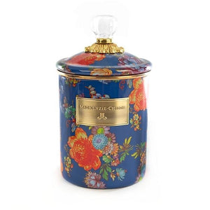 Flower Market Medium Canister - Lapis
