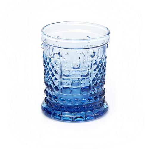 Coquette Juice Glass - Blue